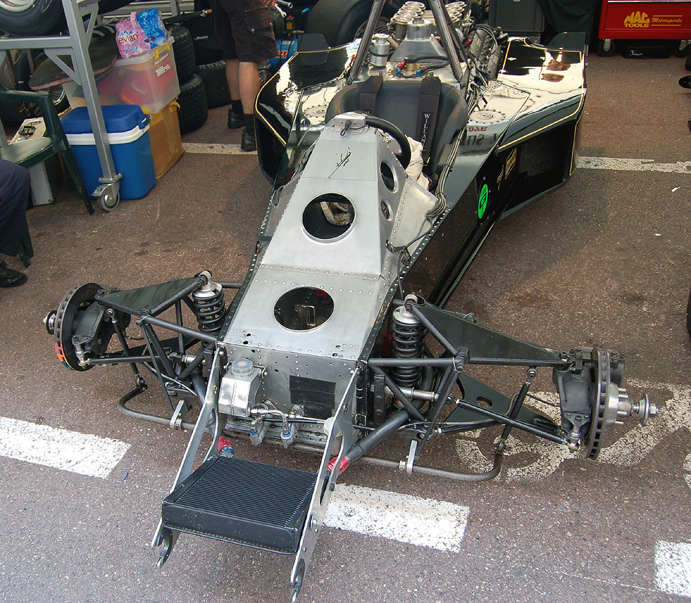 Historic f1 series for Chassis aluminium